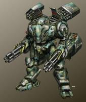LA Armour Profiles: Warlord by Gideon020