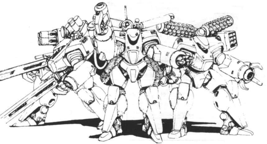 Arasaka L-11 Lawman by Gideon020