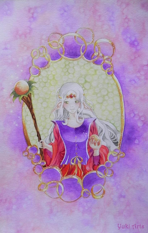 High Priestess by shiroyuki-hime