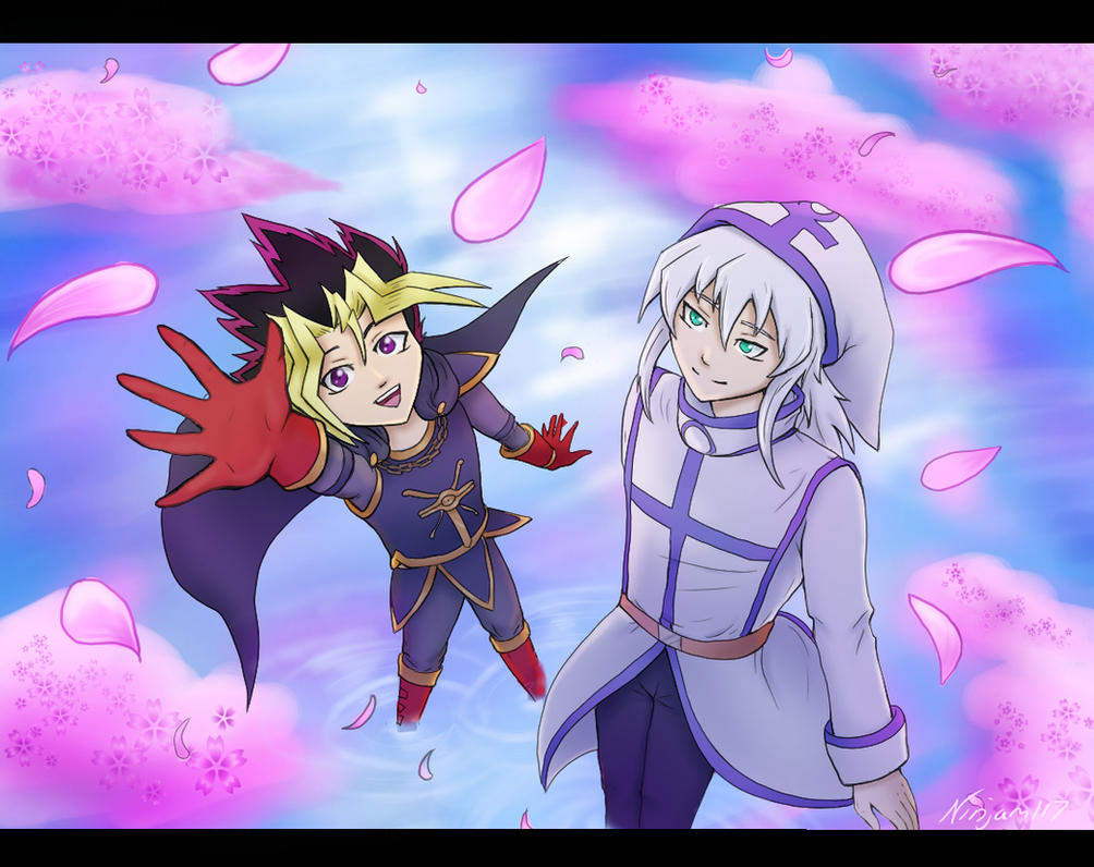 Cherry blossoms - Heartshipping by Ninjam117