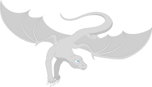 Cobalt Style- 'Dragon In Flight' Base