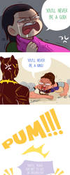 Avenger IW undue provocations by Twinscomics