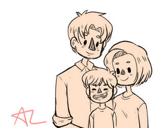 Family Picture by cryptidneet