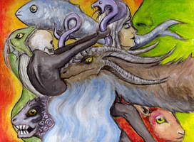 Creature Chaos by Bruneburg