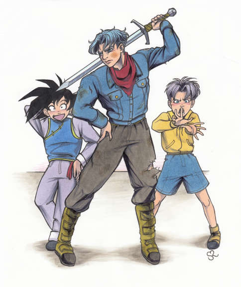 Future Goten And Trunks Dragon Ball Sup...