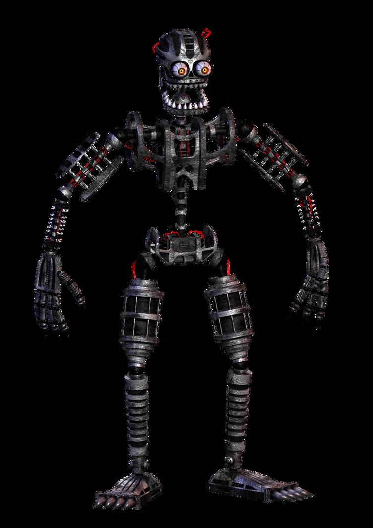 Nightmare Endoskeleton By Hectormkg On Deviantart