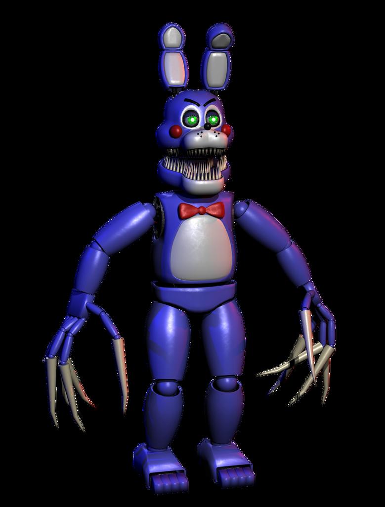 nightmare toy bonnie by hectormkg on deviantart