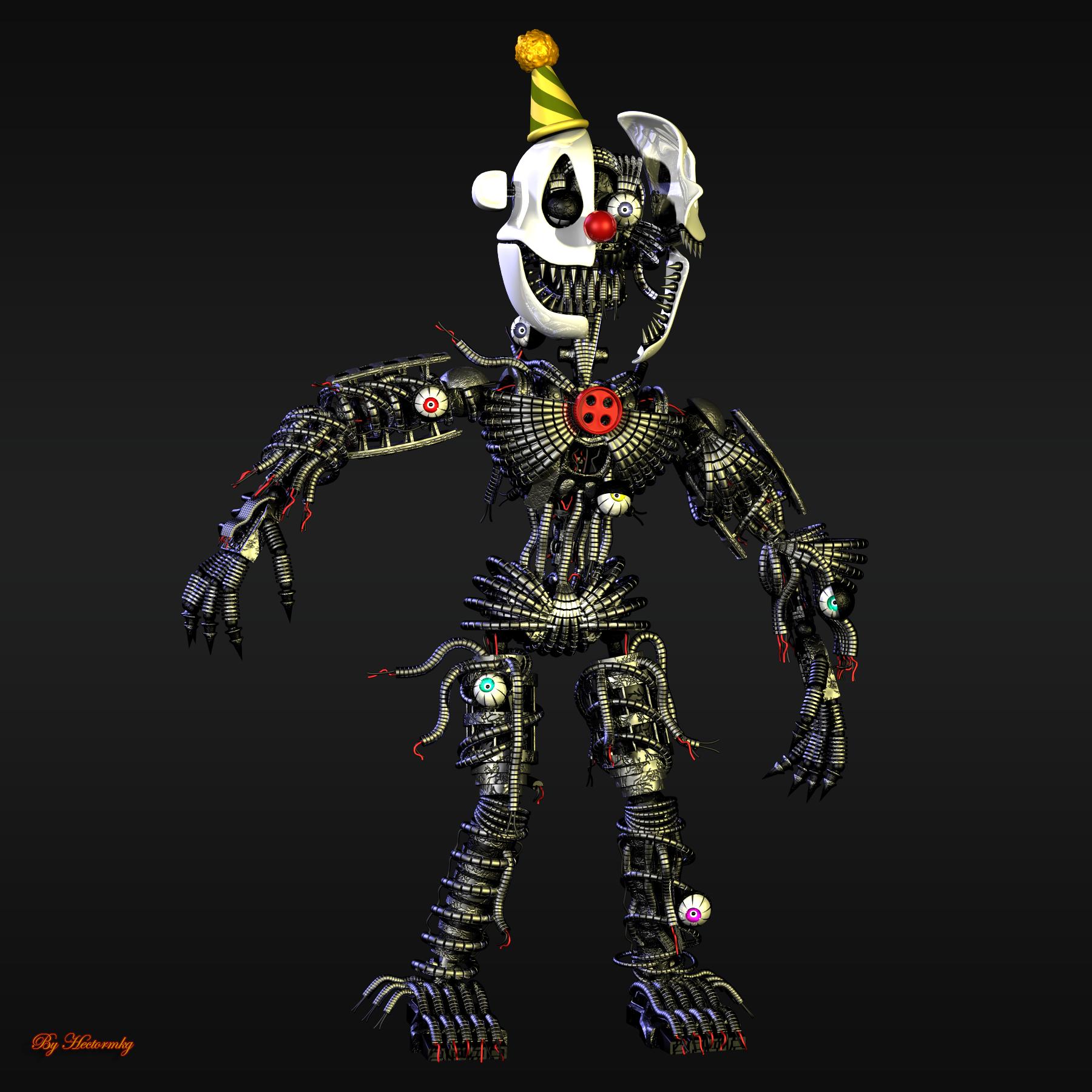 Nightmare Ennard By Hectormkg On Deviantart