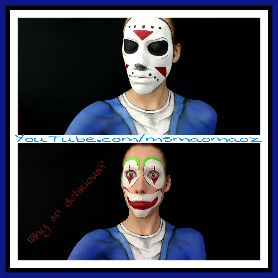H2O Delirious GTAV mask and face paint by MaoMaoz on DeviantArt
