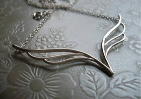 Wings Necklace by SparklyShoes
