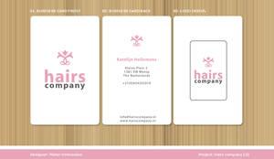 logo hairs company
