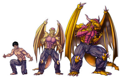 Ryu : Transformation Stages