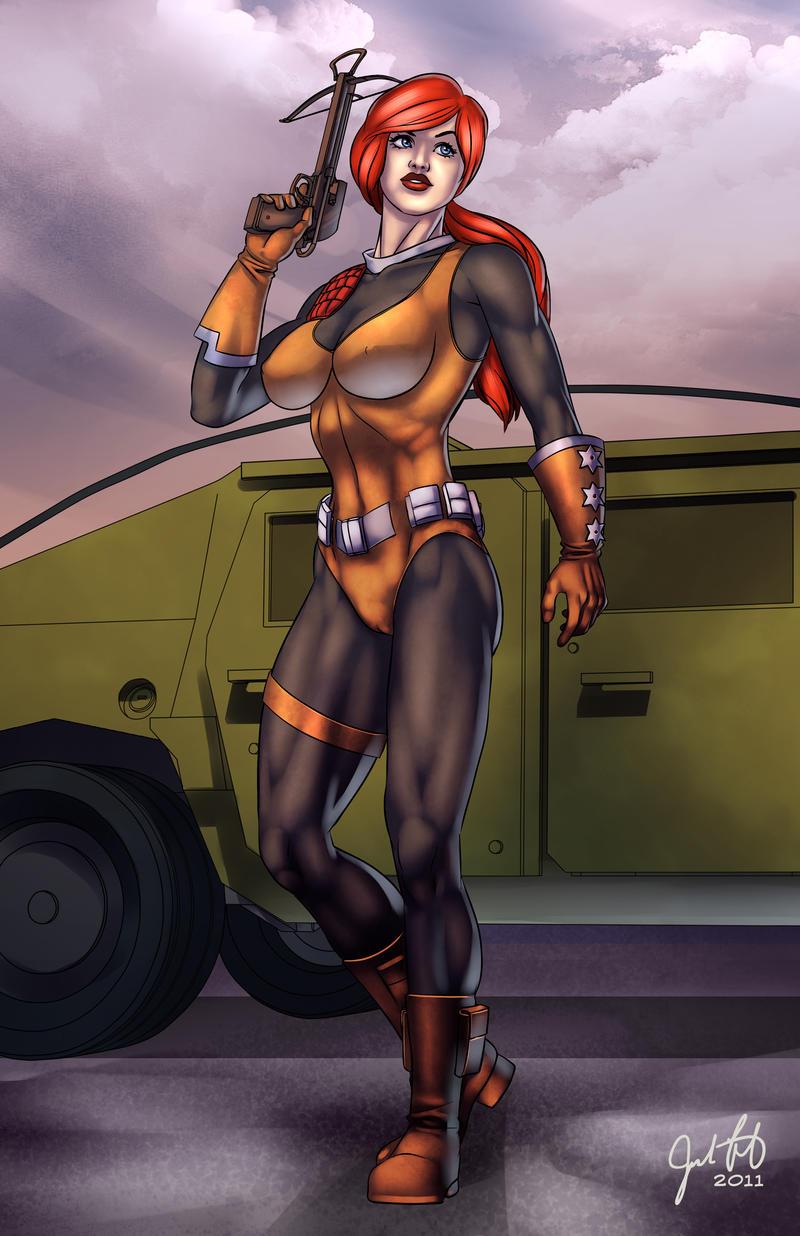 G.I. Joe : Scarlett by JosFouts