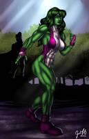 She-Hulk 01 by JosFouts