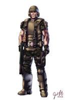 Sgt. Jim Kennedy, USCM by JosFouts