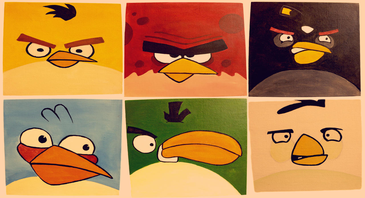 Angry Birds HD by EngYpT