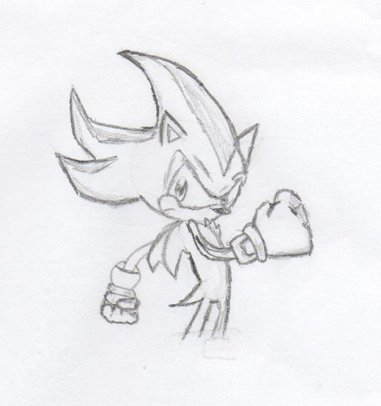 Shadow hedgehog coloring pages
