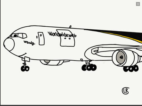 A Boeing 767-200 named Windy