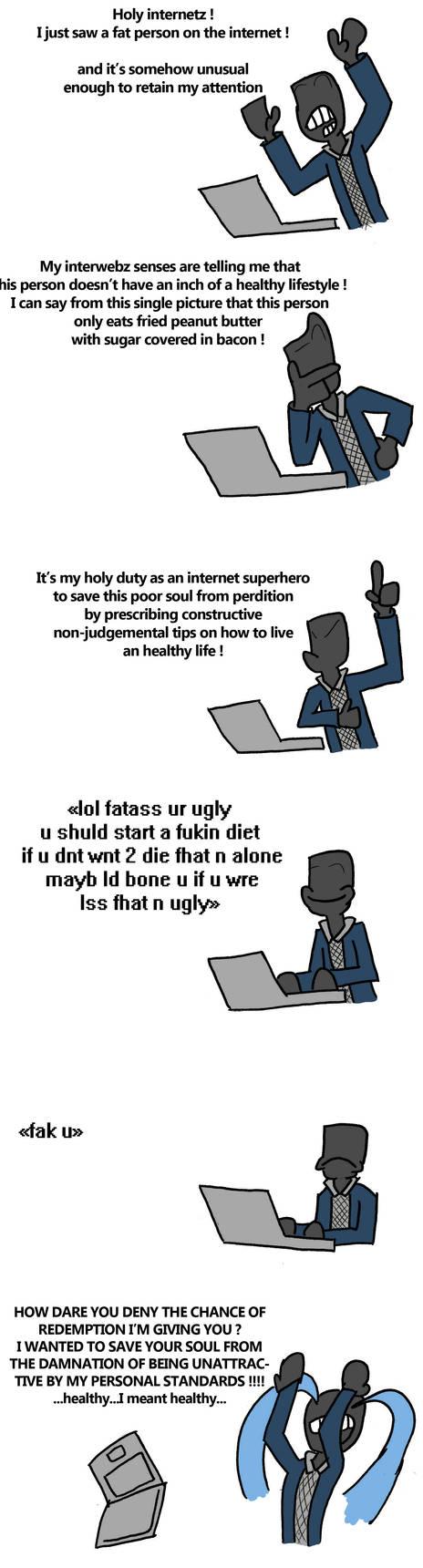Tumblr anon's healthy advice