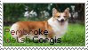 [ stamp #8: pembroke welsh corgis ] by essence-of-saltyness