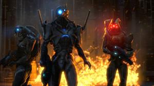 Mass Effect Geth Wallpaper