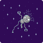 Robot Boy in Space by FrostedMayhem