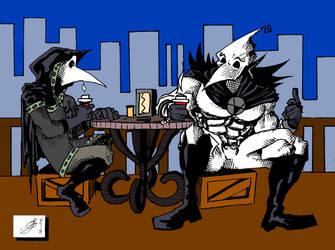 Coffee Chat by ElmerLobo