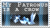 Crow Patronus Stamp F2U by SkaifIaya