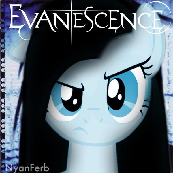 Pinkie Pie Fallen by InsomniaQueen on DeviantArt Evanescence Album Cover 2013