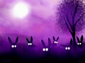Spooky Bunnies by InsomniaQueen