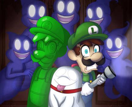 Luigis Mansion-Ghost