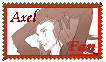 Axel Fan Stamp by FlareKoshiru