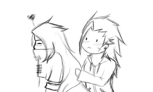 Zack and Vincent by FlareKoshiru