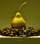 Pear and coffee