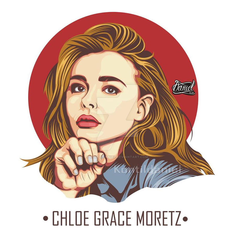 Chloe Grace Moretz Vector by kontildaniel
