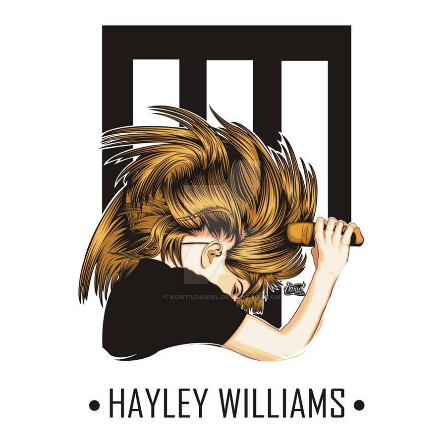 Hayley Williams vector by kontildaniel