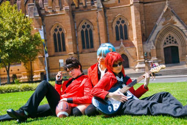 Eyeshield 21: Daydreams of Notre Dame by silverharmony