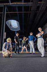 Gundam Wing: The Gundam Pilots by silverharmony