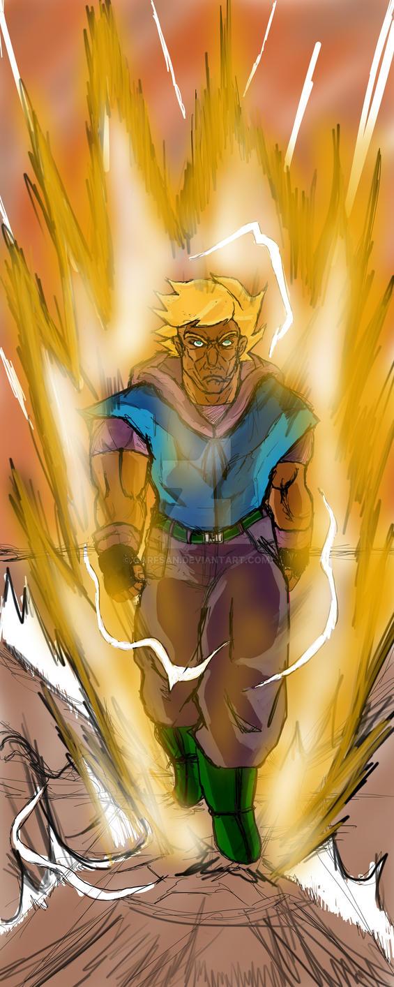 Super Saiyan Jae by Garfsan