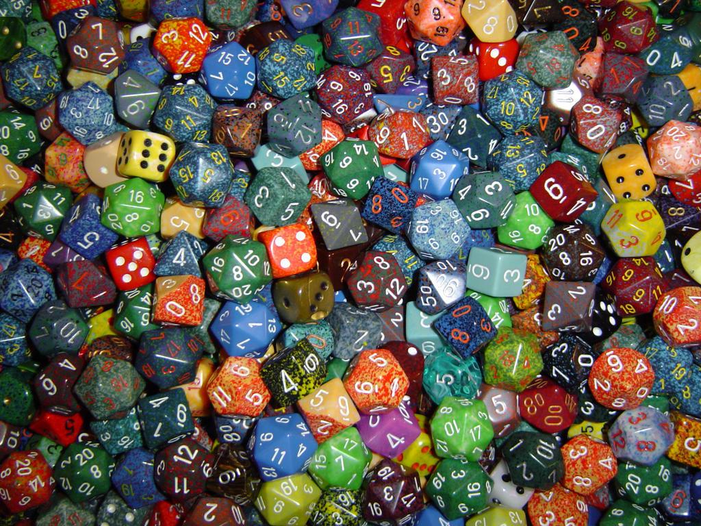 dice wallpaper wide