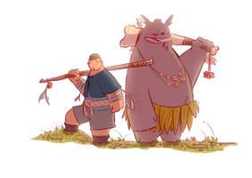 Matt and Tubb by Cuonggg