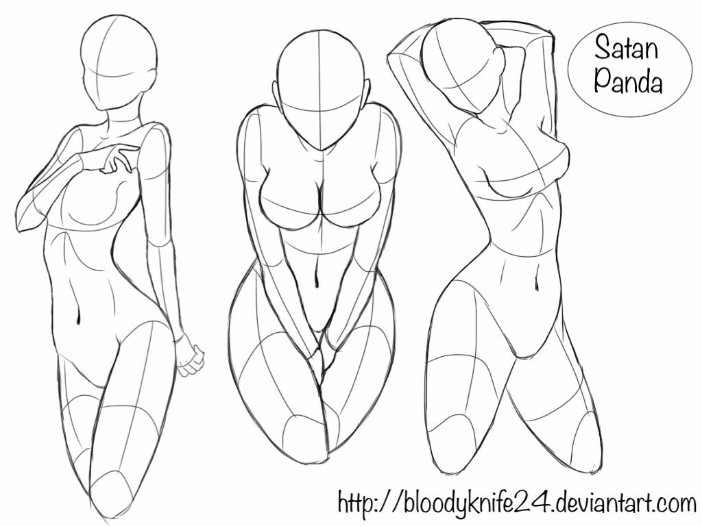 Body Poses 1 By Bloodyknife24 On Deviantart