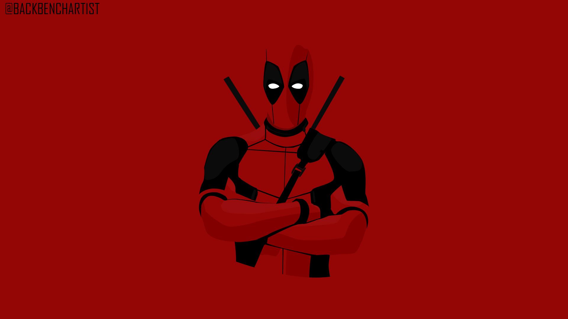 Deadpool 2 Vector Fan Art Wide Red By Mraniketr On Deviantart