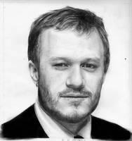 Heath Ledger by MindlessCreativity