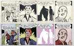 Digital Coloring Sample - Archie Newspaper Strip