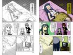 Digital Coloring Sample - Ika Musume 3