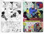 Digital Coloring Sample - Betty - Big Battle PG1