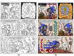 Digital Coloring Sample - Sonic Legacy 165