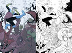 Digital Coloring Sample - Invincible
