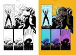 Digital Coloring Sample - The Establishment 10
